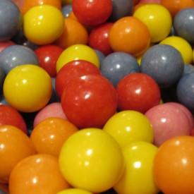 Bonbon bille chewing gum