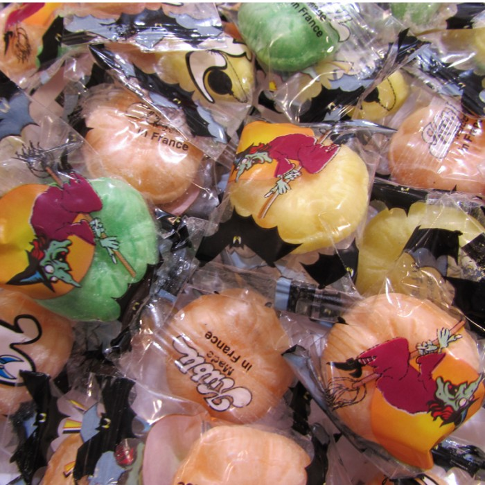 Bonbon emballé halloween