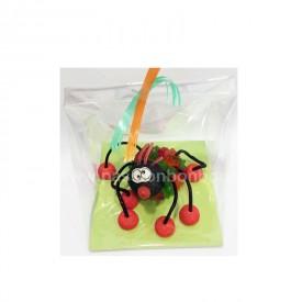 Araignée en bonbons emballée