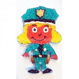 Policière en bonbons