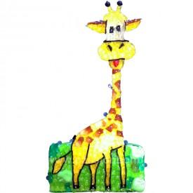 Girafe en bonbons