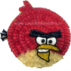 Angry Bird en bonbons