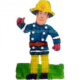 Sam le pompier en bonbons