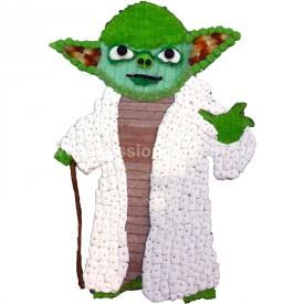 Maître Yoda en bonbons