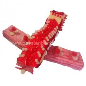 Avion en bonbons