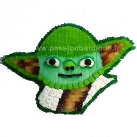 Tête de Yoda en bonbons