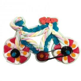 Vélo en bonbons