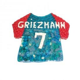 Maillot de foot Griesmann en bonbons
