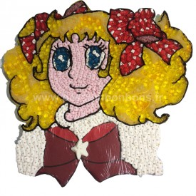Candy du dessin animé en bonbons