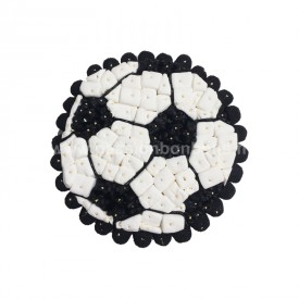 Ballon de foot en bonbons