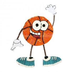 Un basketteur en bonbons