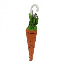 Une carotte en chocolat