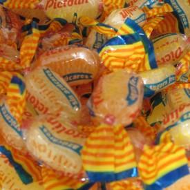 Bonbon sans sucre à l'orange et au citron