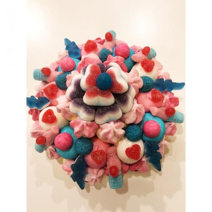 Gâteau de bonbons pour fille ou garçon