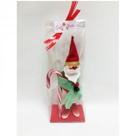 Saint Nicolas en bonbons avec son emballage