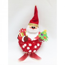 Un père Noël tout en bonbons