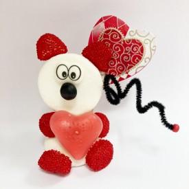 Petit ours en bonbons pour la Saint Valentin