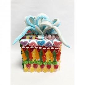 Paquet cadeau en bonbons