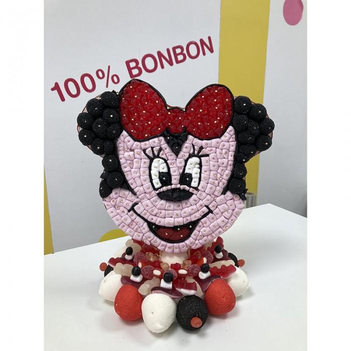 Gâteau en bonbons avec Minnie