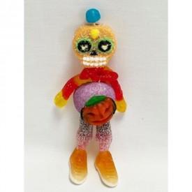 Un monstre en bonbons d'halloween