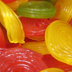 Bonbon rouleau fruit