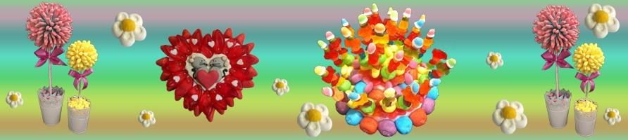 Des compositions de bonbons originales pour des évènements ponctuels