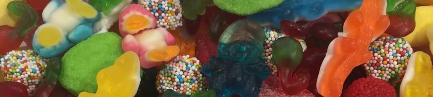 Les bonbons au poids gélifiés