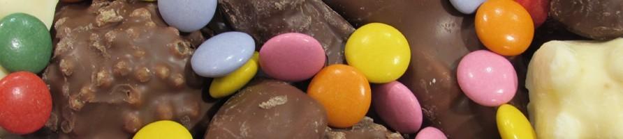 Les bonbons au poids chocolat