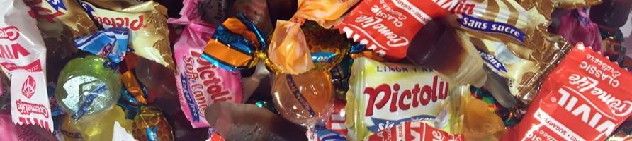 Les bonbons au poids sans sucre