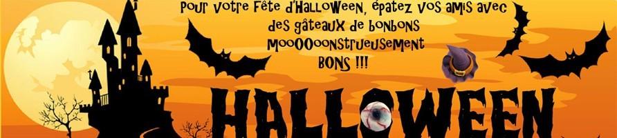 Les bonbons pour halloween