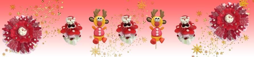 Les créations en bonbons pour Noël
