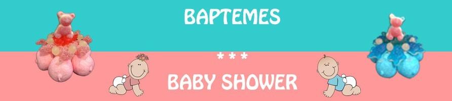 Les gâteaux de bonbons pour bâptèmes, communions
